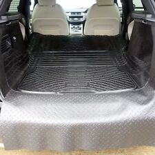 Range Rover Evoque 11-18 natural rubber boot liner load mat or bumper protector