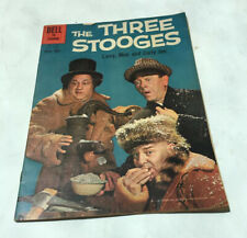 THREE STOOGES FOUR COLOR #1078 COMIC BOOK 1960 MOE LARRY CURLY Photo Cover