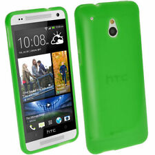 Custodie preformate/Copertine verde per HTC One mini