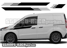 Ford Transit CONNECT 003 M-SPORT Style racing stripes graphics stickers decals