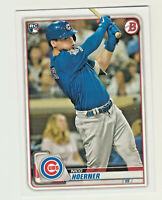 2020 Bowman #72 NICO HOERNER RC Rookie Chicago Cubs QTY AVAILABLE