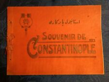 Turkey Constantinople 1900's  booklet with 24 views by B.M