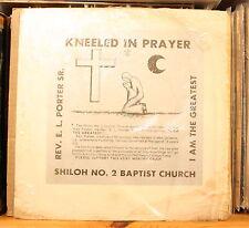 """REV.E.L. PORTER *I AM THE GREATEST* N.O. Gospel Sermon 12"""" SHILOH 2 121 BOOKER"""