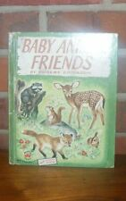 Baby Animal Friends Phoebe Erickson Wonder Books With Washable Cover