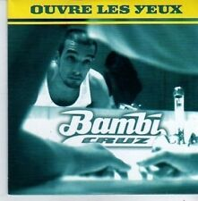 (AO656) Bambi Cruz, Ouvre Les Yeux - 1997 CD