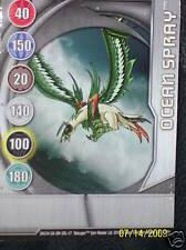 BAKUGAN Bakuglow Ocean Spray METAL GATE CARD 7/48n