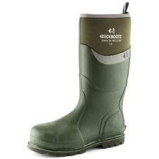 Briers Traditional Short Waterproof Wellington Boots Green UK Size 10 #3N110