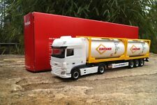 """Herpa   DAF XF SSC Euro6 2x 20"""" Tankcontainer-Sattelzug """"Eurotainer""""  306829"""