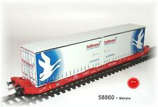 MEHANO 58860 - dc-containertragwagen TIPO sgkkms 689 con Jumbo