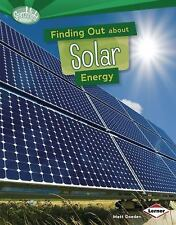 Finding Out About Solar Energy (Searchlight Books) (Searchlight Books -ExLibrary