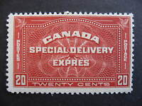 CANADA Sc E4 special delivery MNH but has pulled perfs, please check pictures
