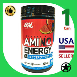 1 Can Optimum Nutrition Essential Amino Energy Electrolytes 30 Servings