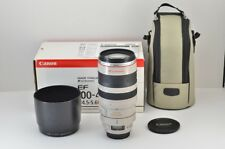 Canon EF 100-400mm F4.5-5.6L IS USM AF Lens for EOS EF Mount with Box #180916f