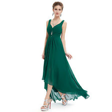 b25a06fec83 Ever-Pretty Bridesmaids Wedding Party Long Dresses 09983 Size 4 Dark Green  20