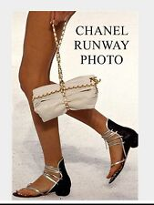 NEW Chanel Runway Sandals Size 40