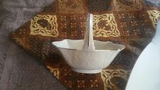 Lenox San  Souci candy  basket  dish  ivory with gold trim. Perfect 6""