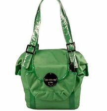 NEW MIMCO MINI LUXE LOCK TOTE SHOULDER BABY BEACH BAG EMERALD rrp$249 now$95.95