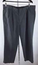 Dockers Dupont Teflon Pleated Mens Size 38 X 30 Gray Dress Pants  G-99