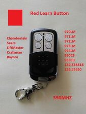 Chamberlain Sears Garage Door Opener Mini Remote Part For Red Learn Button