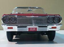 Ertl American Muscle 1/18 1964 Chevrolet Impala SS 409 Palamar Red