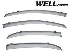 For 02-07 Suzuki Aerio 4Dr Sedan WellVisors Side Window Visors W/ Black Trim