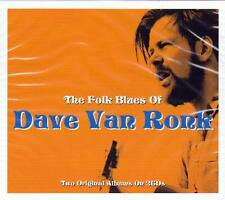 DAVE VAN RONK - THE FOLK BLUES OF - 2 ORIGINAL ALBUMS (NEW SEALED 2CD)