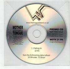 (GJ291) Mother Tongue, Falling In - 2008 DJ CD