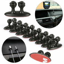 8x Car SUV Headphone Line Cable Clamps Cord Organizer Smart Cellphone Durable