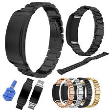 18mm Stainless Steel Link Bracelet for Samsung Gear Fit2 /Fit 2 Pro Band Strap