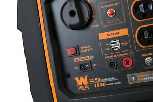 WEN Gas Portable Inverter Generator Super Quiet 2250-Watt with Fuel Shut-Off