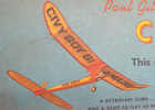 """CIVY BOY 61"", RARE Vintage Kit, Die Cut, W/S 61"", .19-.35 Power"