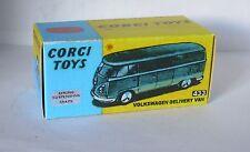 Repro Box Corgi Nr.433 VW Delivery Van