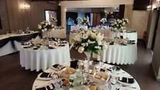 6x 60cm Tall Martini Glass Vase Table Centrepiece Wedding Function Venue Decor