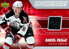 2006-07 Upper Deck Jersey Series One #JDP Daniel Paille