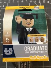 Oyo Sports Minifigure Utah State University Graduate Alumni Lego Male USU Aggies