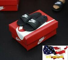 "1/6 scale Slides Sandals Slippers Nike shoes for hot toys phicen 12"" figure❶USA❶"