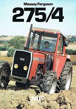 ▬►Prospectus Tracteur MASSEY FERGUSON MF 275/4 Prospect Tractor Traktor