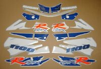 GSX-R 1100W 1995 complete decals stickers graphics kit set adhesives autocollant