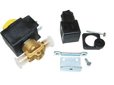 """CASTEL SOLENOID VALVE AND COIL 3/8"""" SAE FLARED 240V SUITS ALL REFRIGERANTS RF794"""