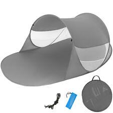 Tenda popup da spiaggia protezione UV sole mare campeggio parasole 245x145cm nuo