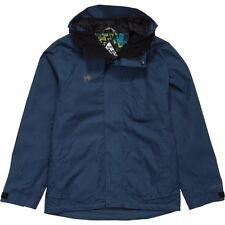 HOMESCHOOL Mens WATERPROOF Ski SNOW Board JACKET Coat DARK BLUE size LARGE $240!