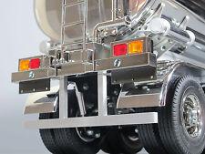Custom Rear A Aluminum Bumper Guard Tamiya 1/14 Truck Trailer Container Flatbed