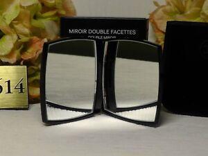 Chanel MIROIR DOUBLE FACETTES Mirror Duo with Velvet Pouch****NIB*****