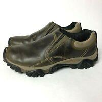 Merrell Moab Rover Moc Kangaroo Men's Size 8 Slip On Leather Hiking Loafer Shoes