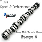Texas Speed Tsp Stage 2 Low Lift Truck Cam 4.85.3 Factory Ls6 Springspushrods