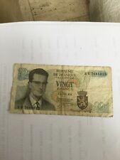 Belgique 20 francs Belges billet 15 juin 1964