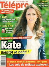 french magazine Télépro N°3011 kate middleton 2011