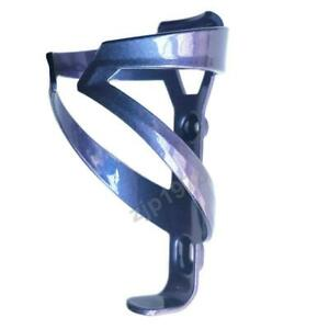 Chameleon Bicycle Water Bottle Cup Holder Cage, Purple Blue Change for Road MTB