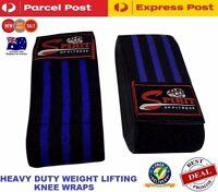 Spriit Weight Lifting Heavy Duty Knee Wraps Bodybuilding Gym strength training