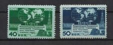 RUSSIA-1950-STAMPS-MEETING OF THE POST TELEGRAPH ,TELEPHONE AND RADIO -MNH-